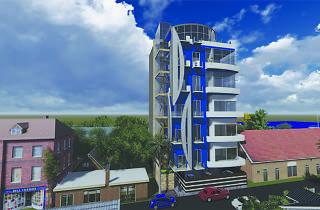 Blue Ocean are apartments in Colombo, Sri Lanka