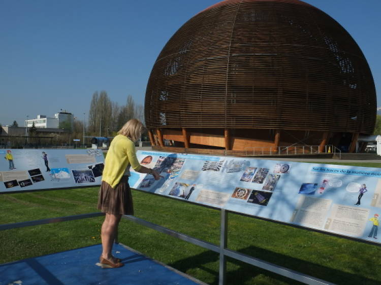 Learn about particle physics at CERN
