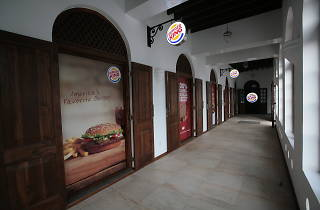 Burger King is a burger cafe in Colombo, Sri Lanka