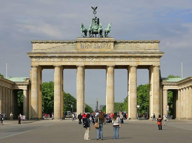 Porta Brandenburg, Berlín