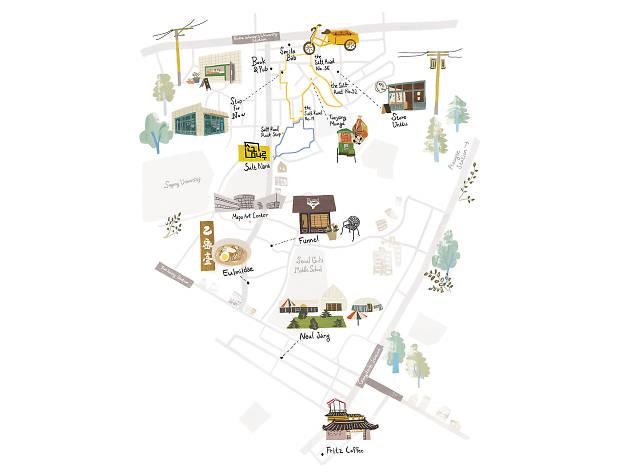 yeomri map eng
