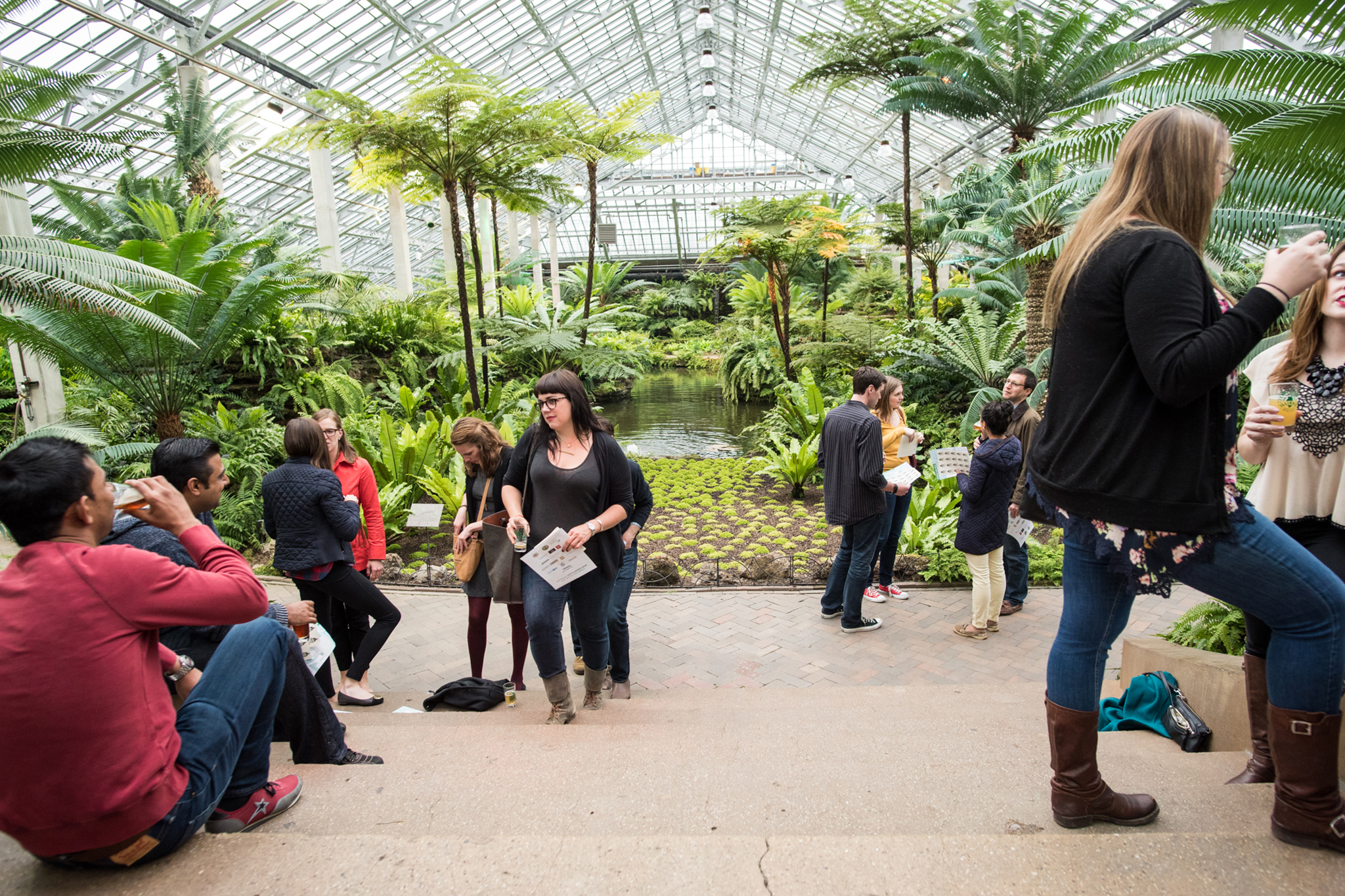 Beer Under Glass, held at the Garfield Park Conservatory, kicked off 2015 Chicago Craft Beer Week.