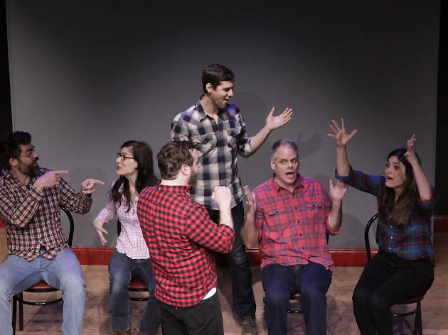 The best weekly improv comedy club shows