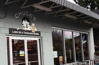Chuck's Hop Shop; bar; seattle; outdoor drinking; outdoor bar