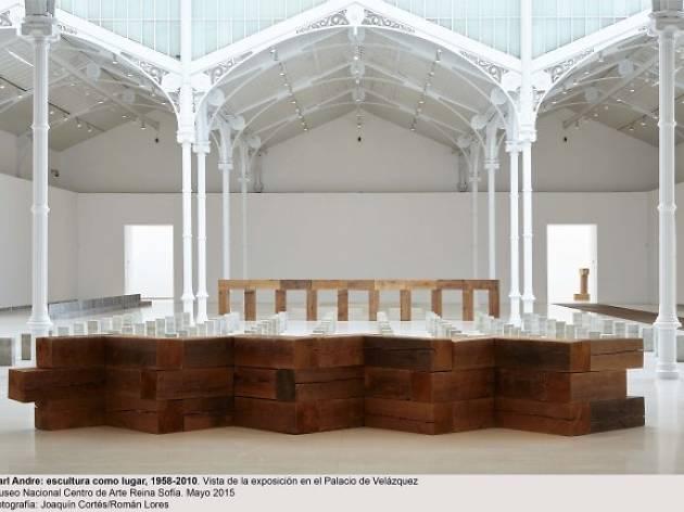 Carl Andre: Escultura como lugar, 1958-2010
