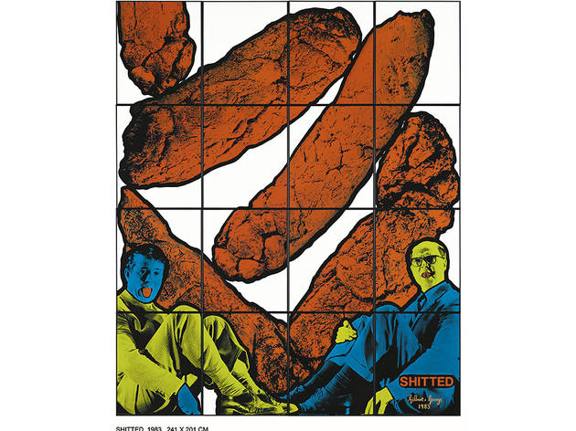 Gilbert & George, Shitted, 1983