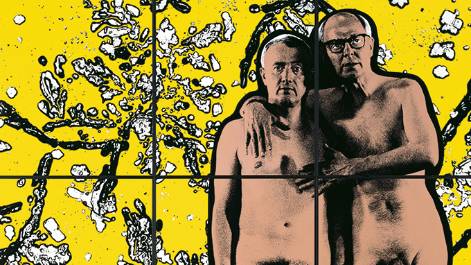 Take a tour of Gilbert & George's most salacious moments