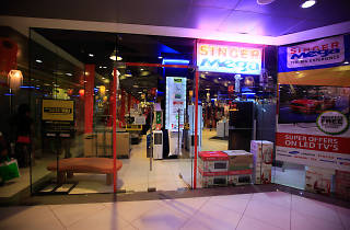 An outlet of the superstore of electronics