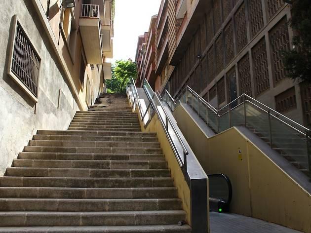 escaleras de barcelona para ponerse en forma