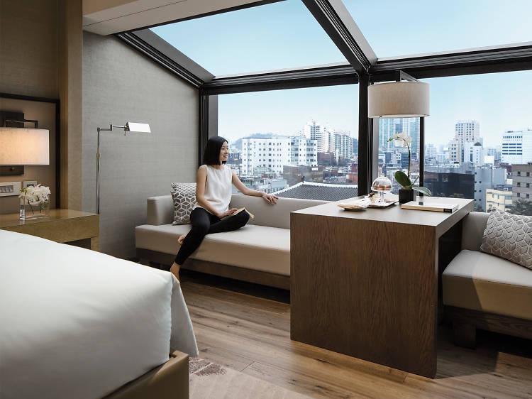 로맨틱한 분위기 서울 호텔