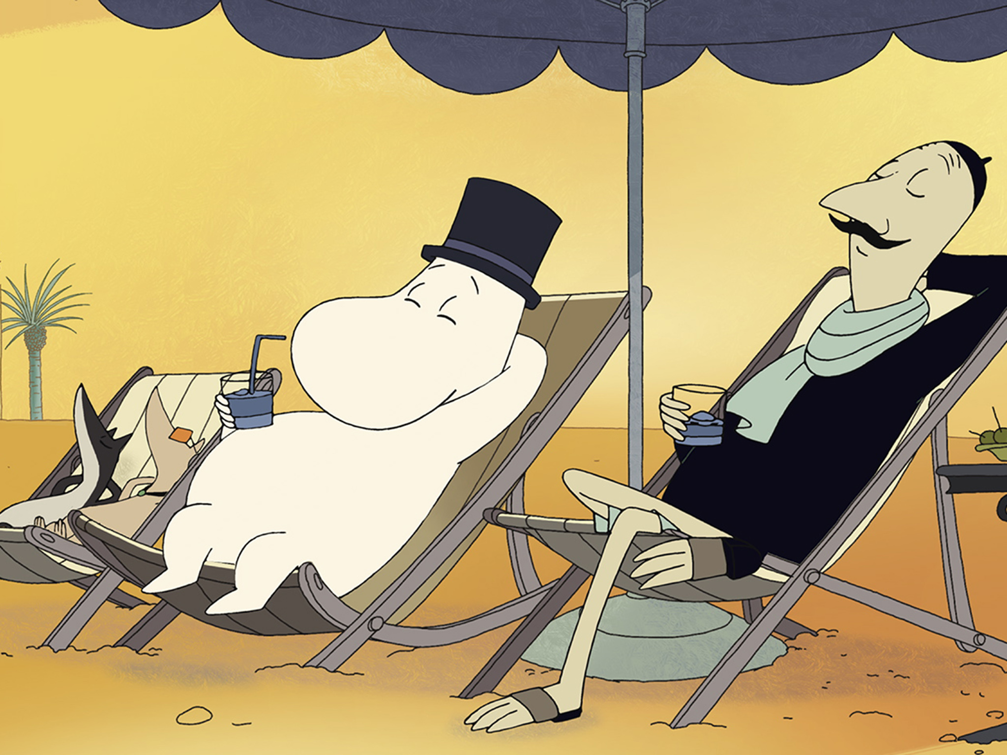 Moomins on the Riviera