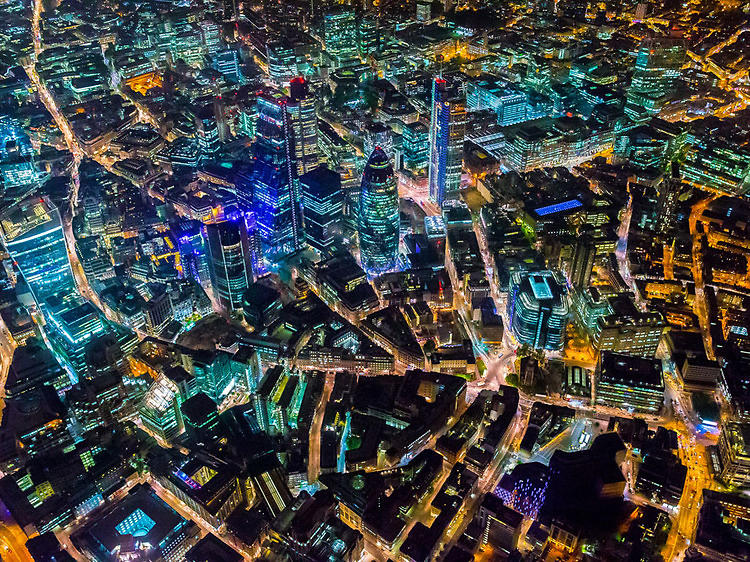 Beautiful photos of London from above