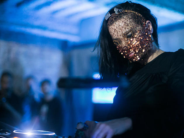 Björk's surprise DJ set at Tri Angle Records' RBMA Festival event