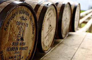 Willett Distillery is located a short drive from Louisville.
