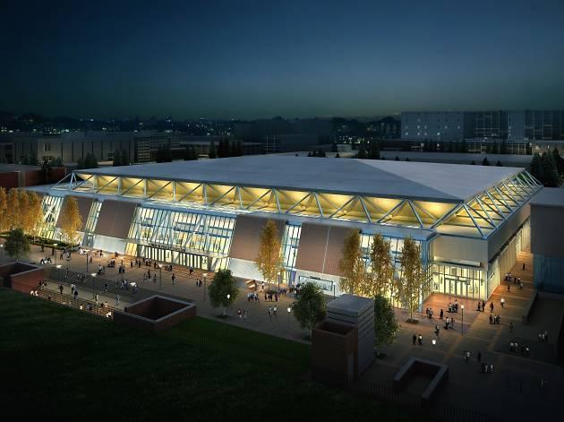 UCLA's Pauley Pavilion