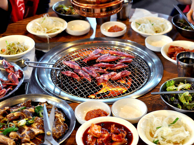 Korean barbecue, gimmie gimmie