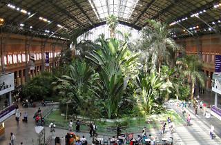 Jardín Tropical Estación de Atocha