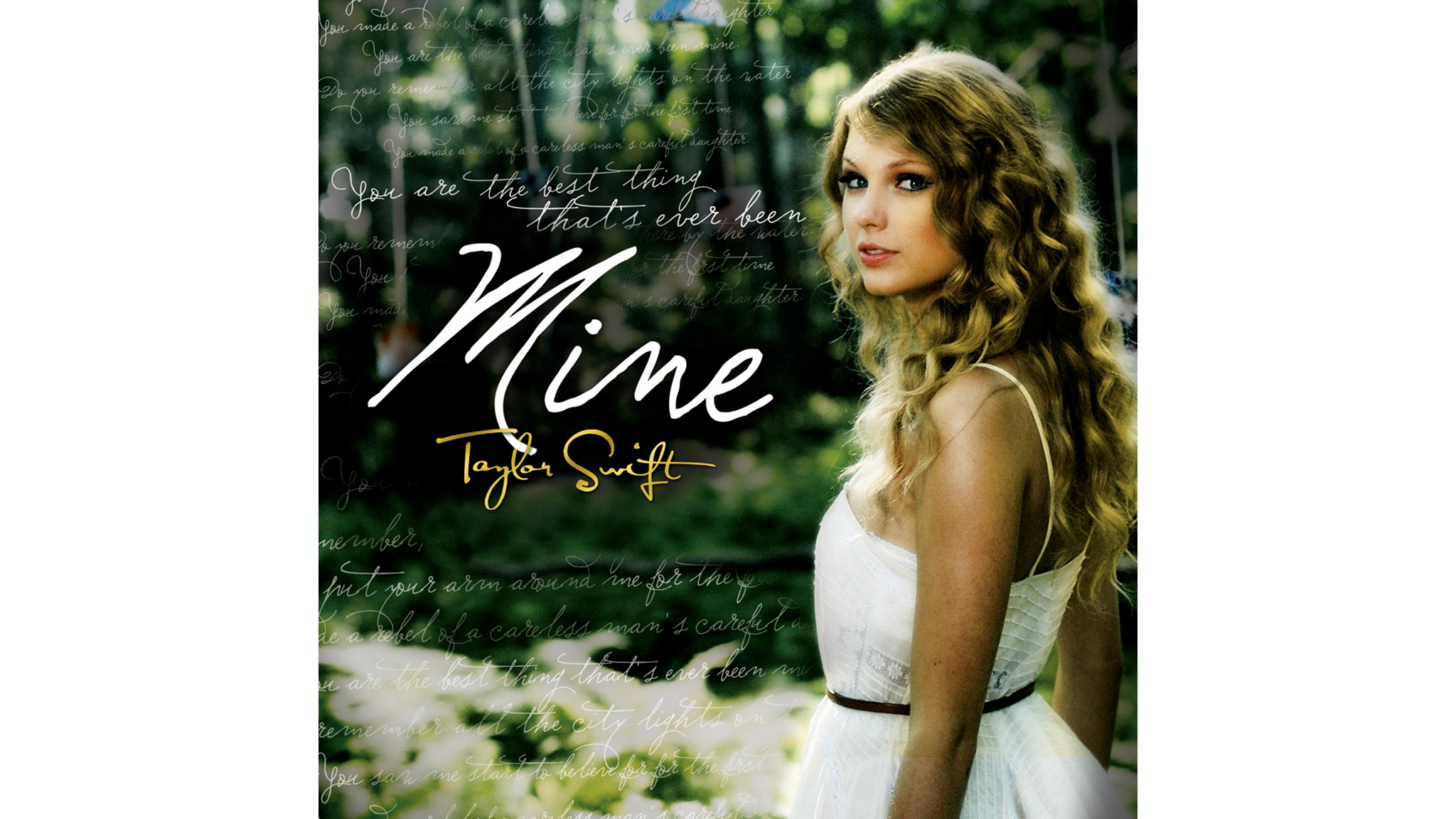 mine, taylor swift