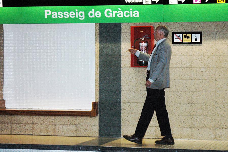 El tenor que cantava a l'andana de Passeig de Gràcia