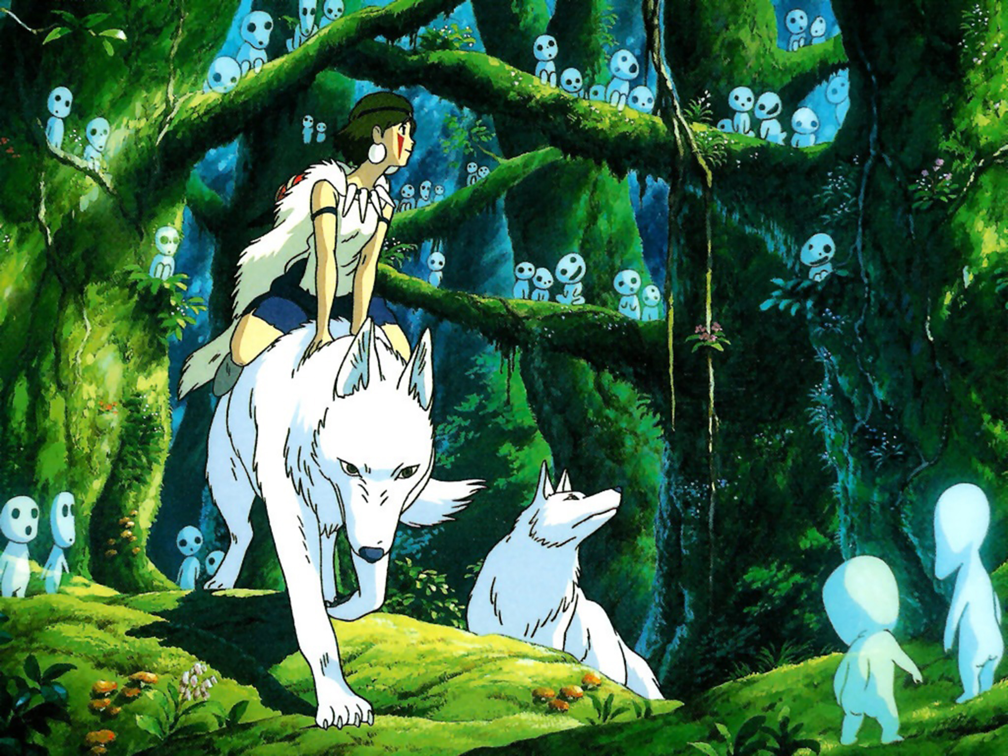Princess Mononoke Best Fantasy Movies