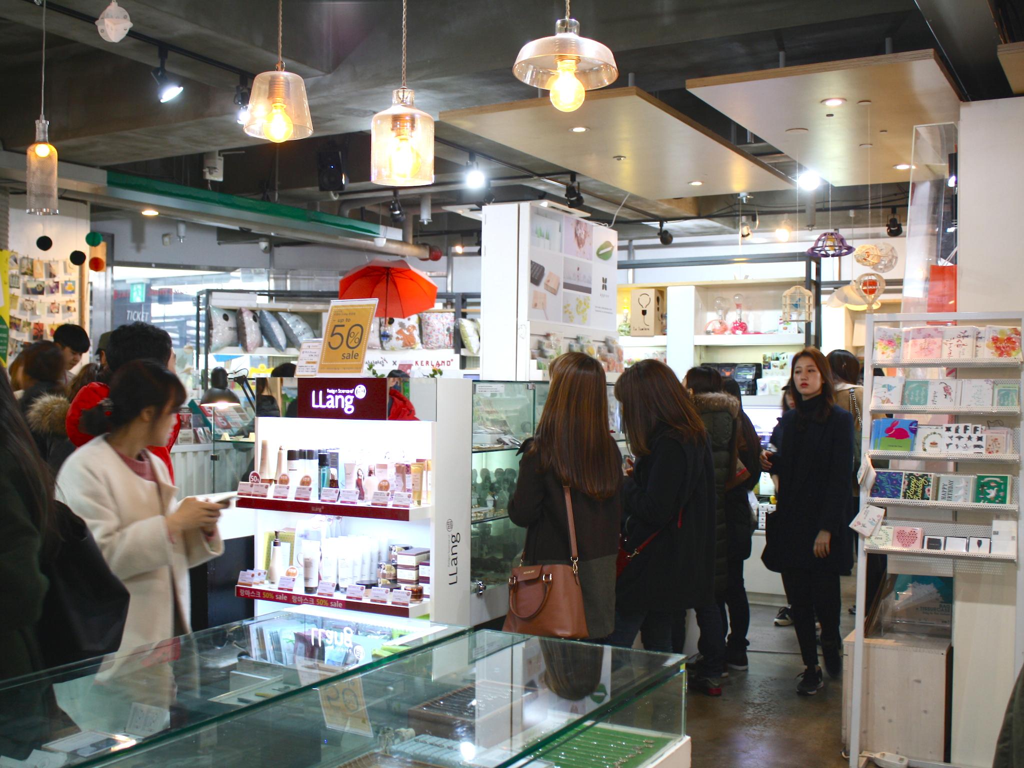 KT&G Sangsang Madang Shop