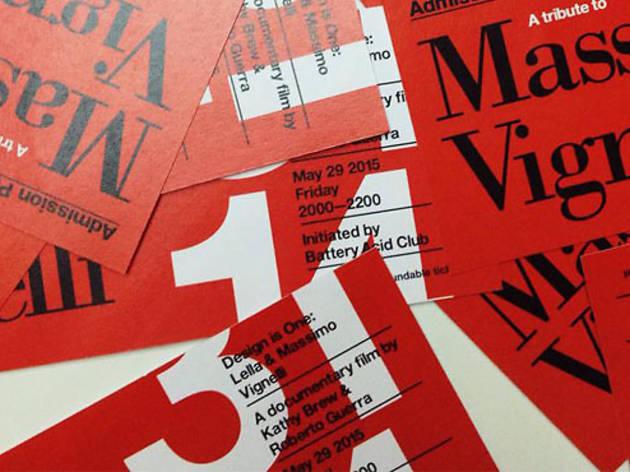 A Tribute to Massimo Vignelli 31—14