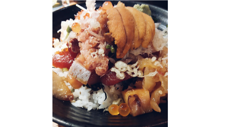Bara chirashi, $17 at Koji Sushi Bar