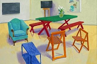 (David Hockney: 'Studio Interior #2', 2014, © David Hockney Photo Credit: Richard Schmidt)