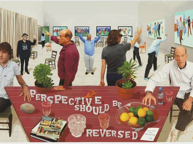 (David Hockney: 'Perspective Should Be Reversed', 2014, © David Hockney, Photo Credit: Richard Schmidt)