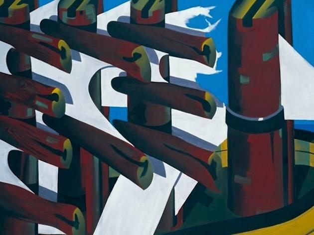 (Markus Lüpertz, 'Gescheiterte Hoffnung' (détail), 1967 / Galerie Christine / © ADAGP, Paris 2015)
