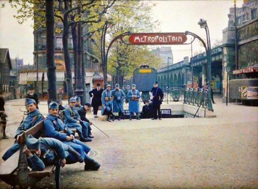 11 photos incroyables du début de siècle en couleur