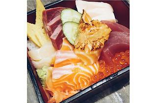 The Sushi Bar - chirashi don