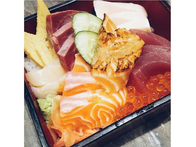 Chirashi, $24.90 at The Sushi Bar