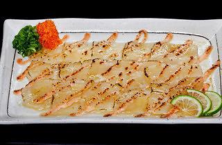The Sushi Bar - hotate mentaiyaki carpaccio