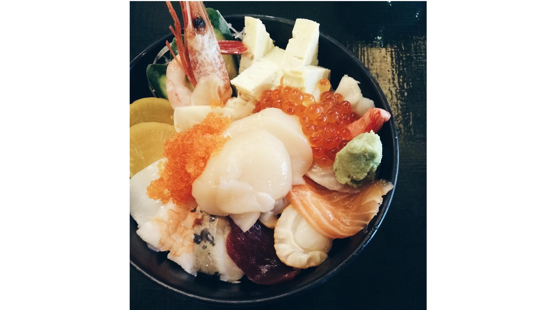 Chirashi, $22 at Sushi Kou