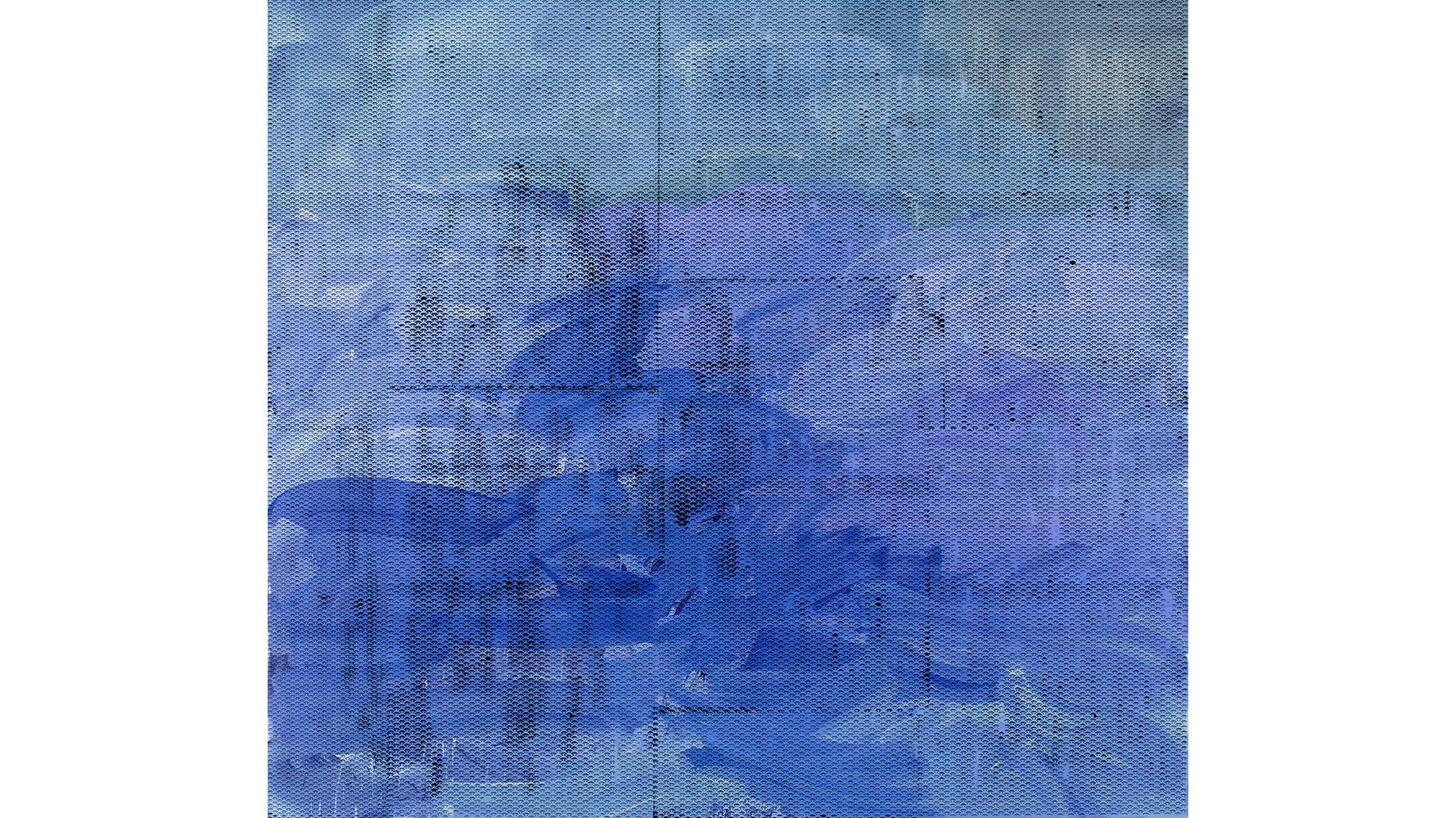 Jacqueline Humphries, :), 2015