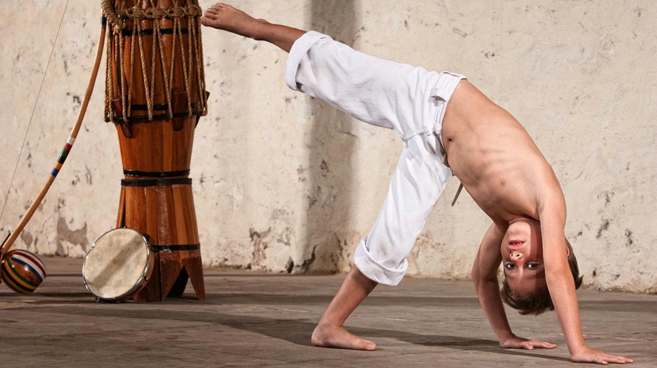 capoeira niños