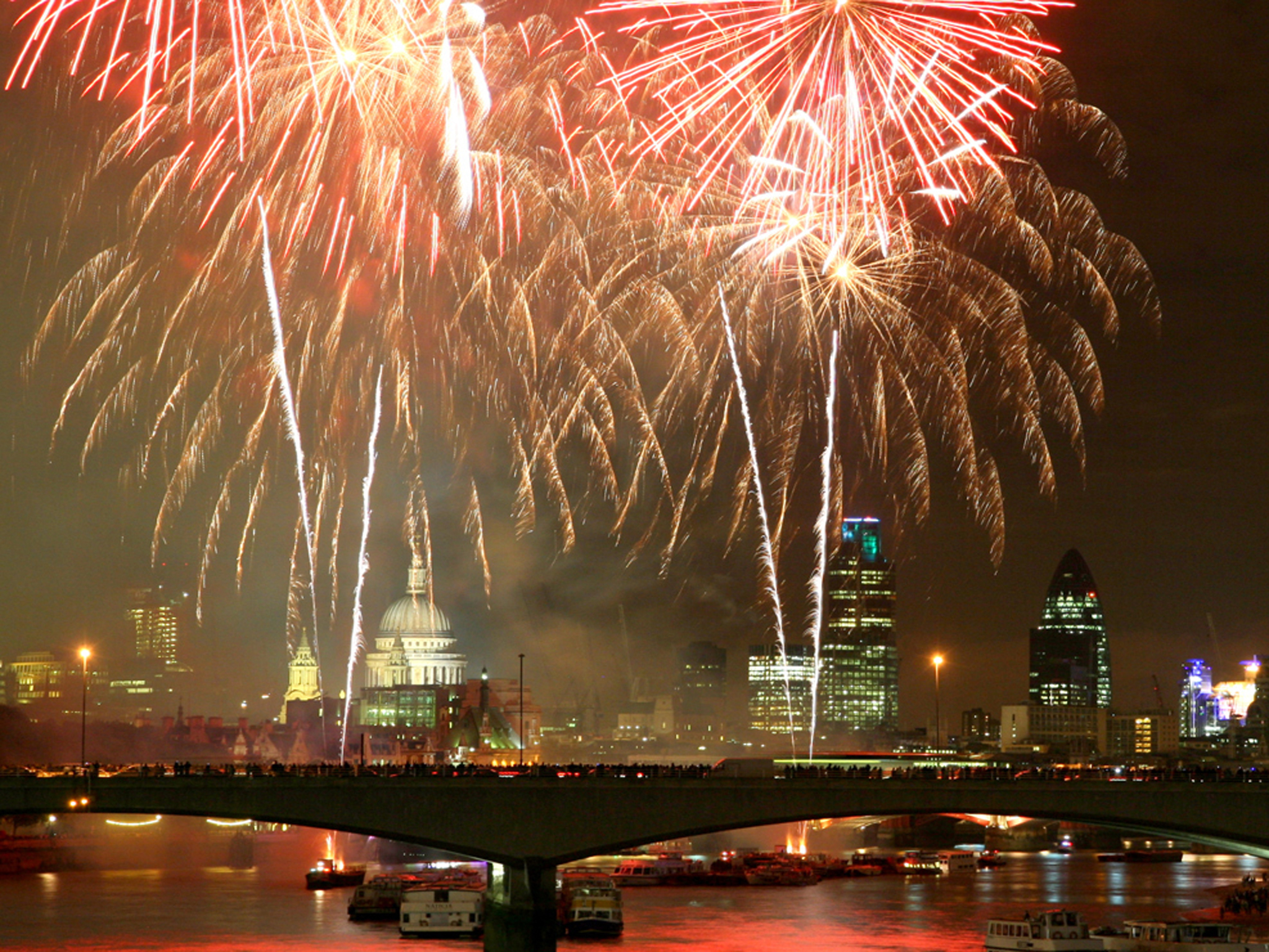 New Year's Eve Fireworks: how to get tickets