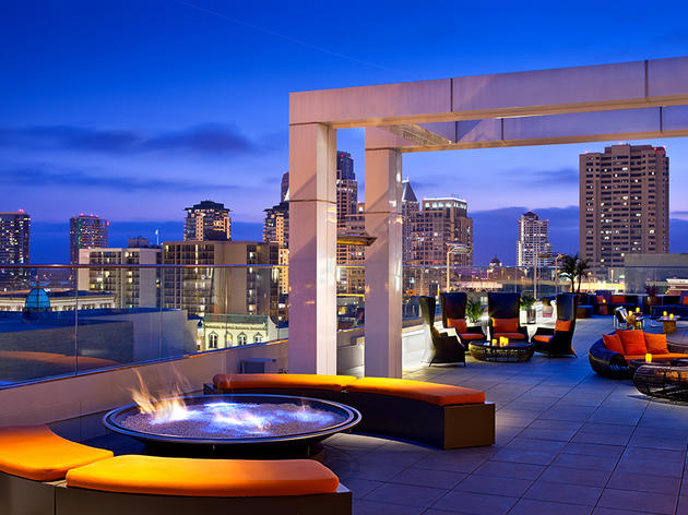 Rooftop600 at Andaz, San Diego