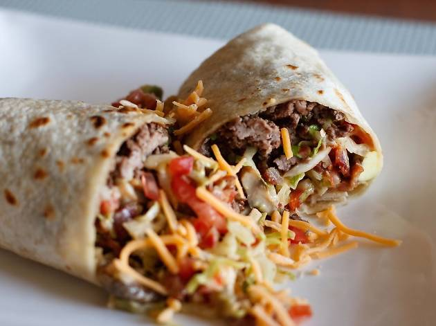 $5 Burgerrito at all Komodo Locations