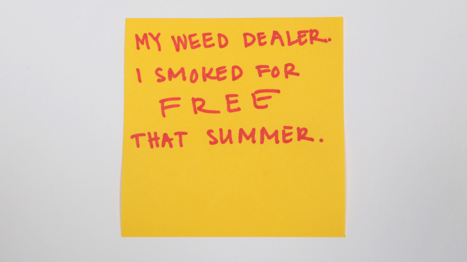 Sticky-note confessions: New Yorkers share their craziest summer flings
