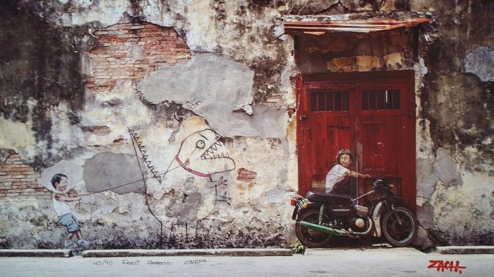 Stroll past street art