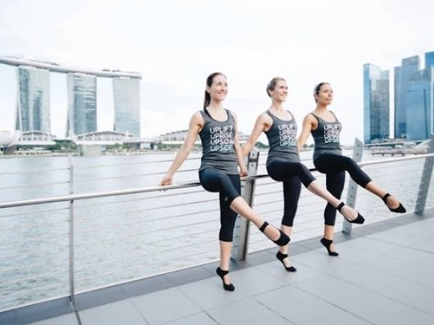 Upside Motion: Raising the barre for charity