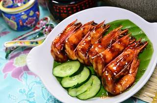 House of Peranakan Petit Assam Prawns