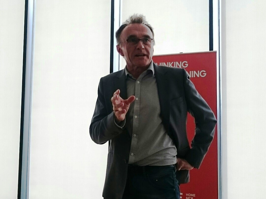 Danny Boyle talks of the importance of culture as HOME launches
