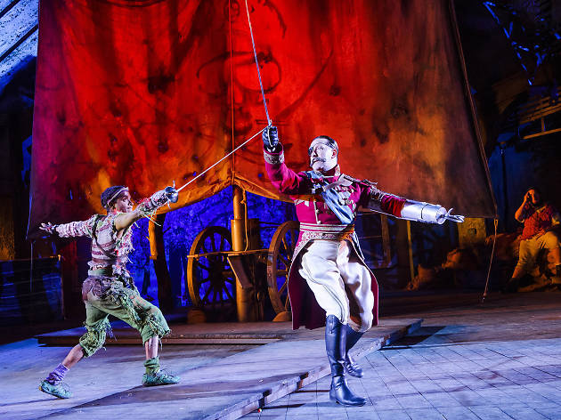 15 London theatre shows we loved the most in 2015: Peter Pan, Regent's Park