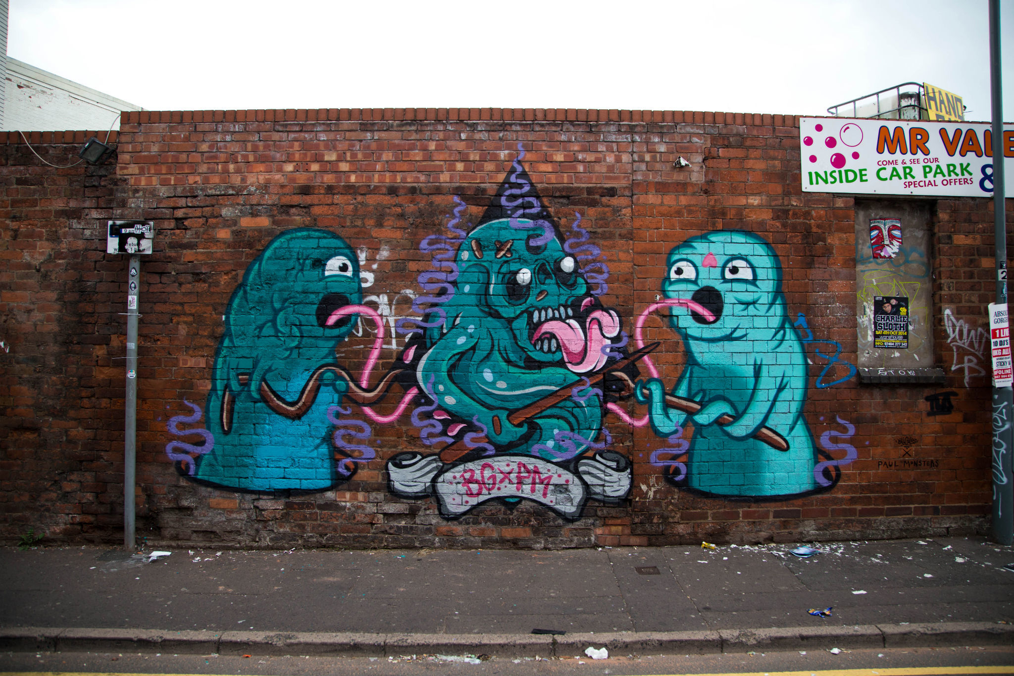 Bill Giles X Paul Monsters