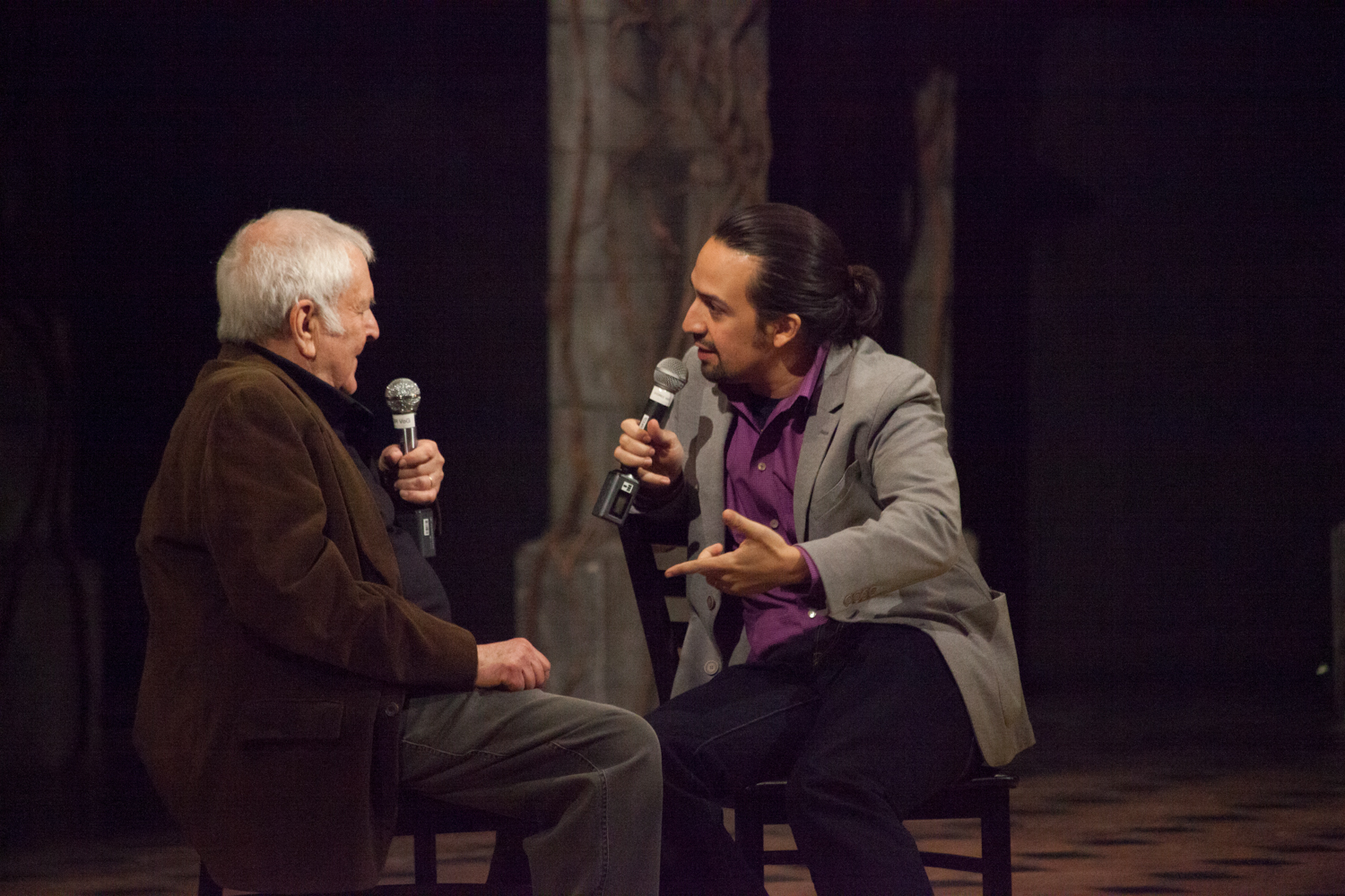 John Kander and Lin-Manuel Miranda talk music at Time Out's trip to The Visit