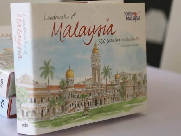 Landmarks of Malaysia - 360 Paintings by Chin Kon Yit: