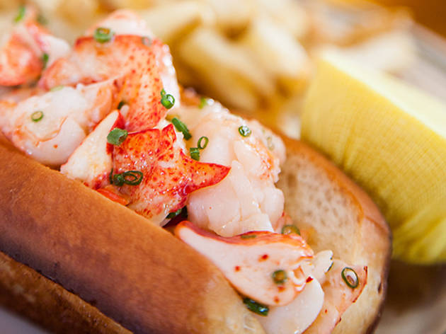 Lobster Roll at Connie & Ted's